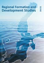 Regional Formation and Development Studies Cover